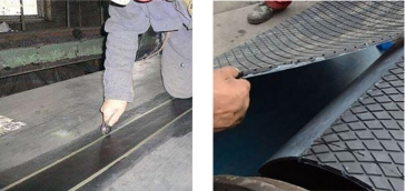 橡胶输送带磨损怎么办?XK橡胶修复剂快速修复工艺